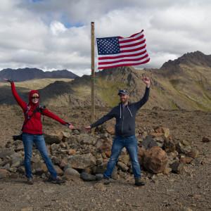 Summit of Flattop Mountain